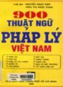 900 thuật ngữ pháp lý Việt Nam