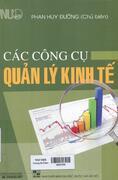 Các công cụ quản lý kinh tế