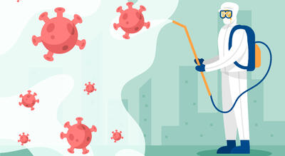STU thông báo tăng cường biện pháp phòng, chống dịch COVID-19.