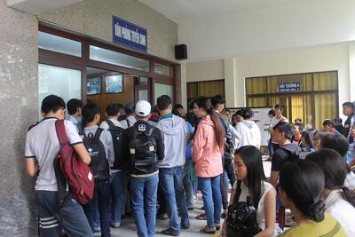 Trường Đại học Công Nghệ Sài Gòn đón tiếp các thí sinh trúng tuyển nguyện vọng 1