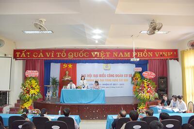 Đại hội Công đoàn Trường Đại học Công Nghệ Sài Gòn thành công tốt đẹp