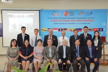 Kiểm định trực tuyến Chương trình đào tạo đại học ngành Công nghệ Thực phẩm của Trường Đại học Công nghệ Sài Gòn theo Bộ tiêu chuẩn AUN-QA