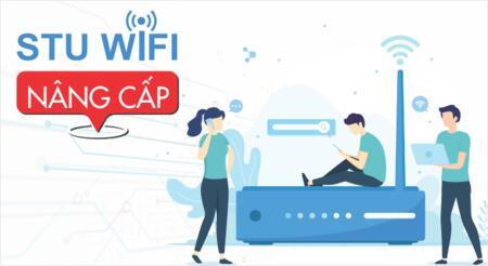 STU nâng cấp hệ thống wifi toàn trường.