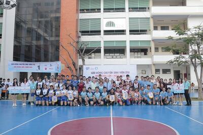 Bế mạc Giải bóng chuyền Sinh viên STU mở rộng lần 1 năm 2021