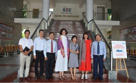 STU báo cáo nội dung thực hiện quy chế công khai năm học 2018-2019.