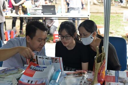 STU tham gia chương trình tư vấn Tuyển sinh - Hướng nghiệp tại Đại học Bách Khoa TP.HCM