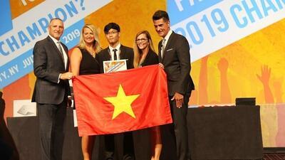 Vietnamese student grabs bronze at Microsoft Office Specialist World Championship