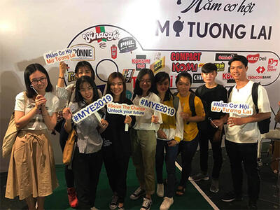 Students participated in Masan Career Day