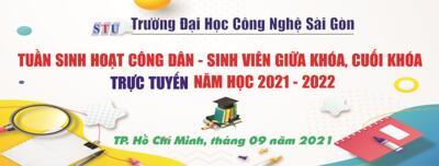 Thông báo về việc tổ chức Tuần sinh hoạt công dân - Sinh viên giữa khóa, cuối khóa năm học 2021-2022