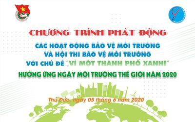 Hội thi bảo vệ môi trường năm 2020 với chủ đề