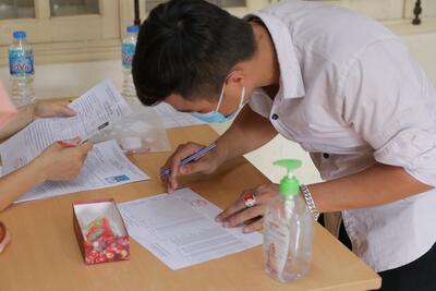 Thí sinh sẽ được đăng ký xét tuyển đại học bằng hình thức trực tuyến.