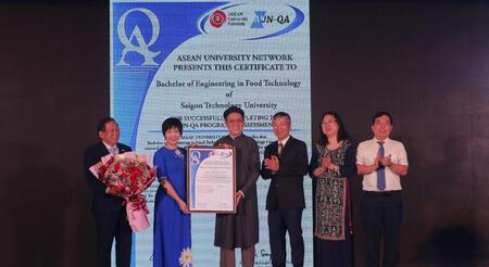 Ngành Công nghệ Thực phẩm của STU đạt tiêu chuẩn chất lượng AUN-QA.