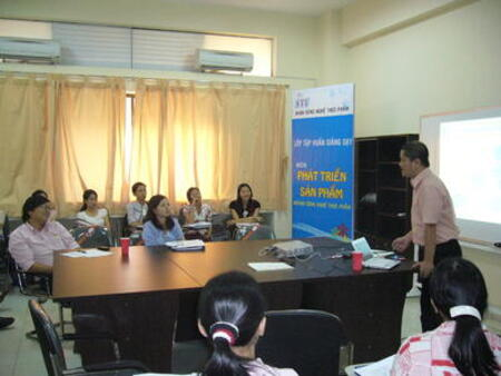Training course on product development