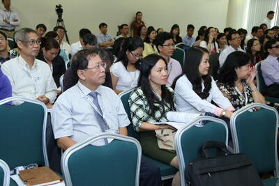 The visiting professors from World Health Organization