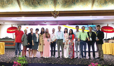Lecturer of Food Technology Faculty attended the 16th ASEAN Food Conference in Bali - Indonesia