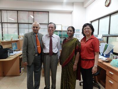 Dr. Prakash backed to STU to give the lecture at the Faculty of Food Technology