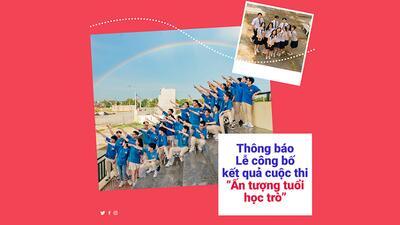 STU thông báo thời gian công bố kết quả cuộc thi ảnh 'Ấn tượng tuổi học trò'.