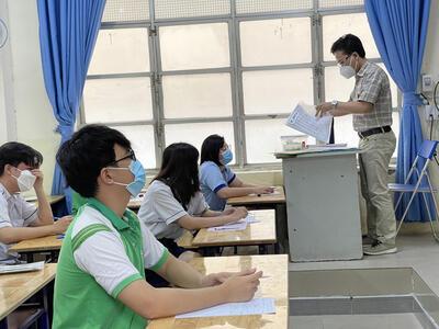 TP.HCM: Thí sinh có thể thi hoặc đăng ký xét đặc cách tốt nghiệp THPT đợt 2.