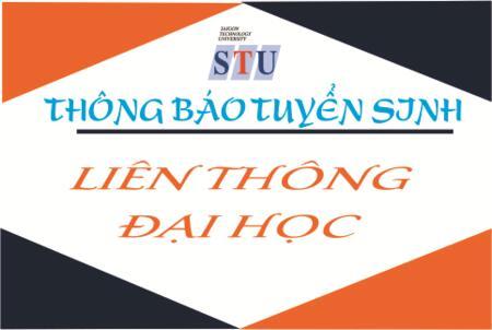 Thông báo Tuyển sinh Đào tạo Liên thông Đại học hệ Chính quy tập trung (Khóa 16)