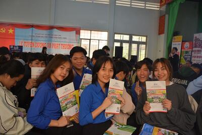 STU với Chương trình tư vấn Tuyển sinh - Hướng nghiệp