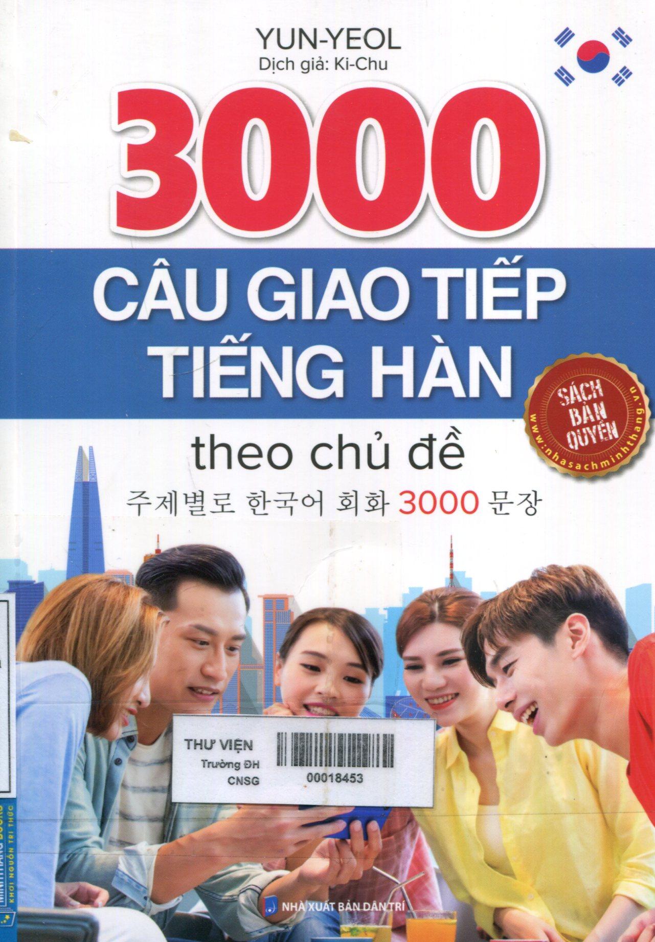 3000 câu giao tiếp tiếng Anh theo chủ đề